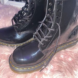 Dr Martens Patent Leather Boots